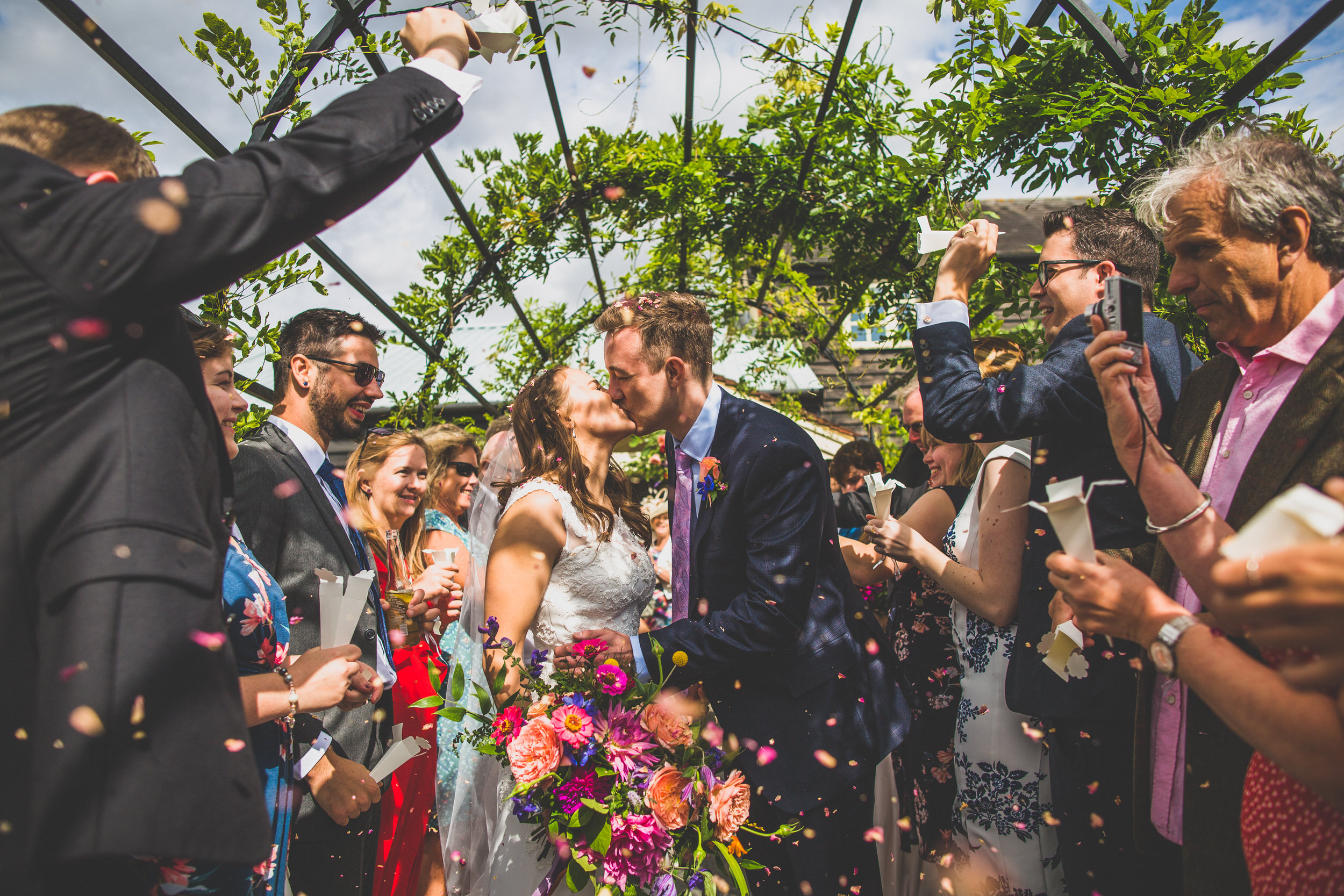 Sydney Confetti Wedding