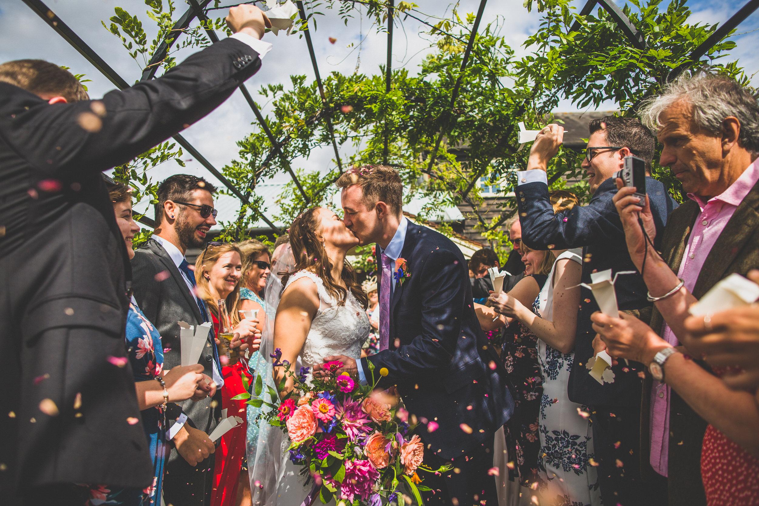 Sydney Confetti Wedding