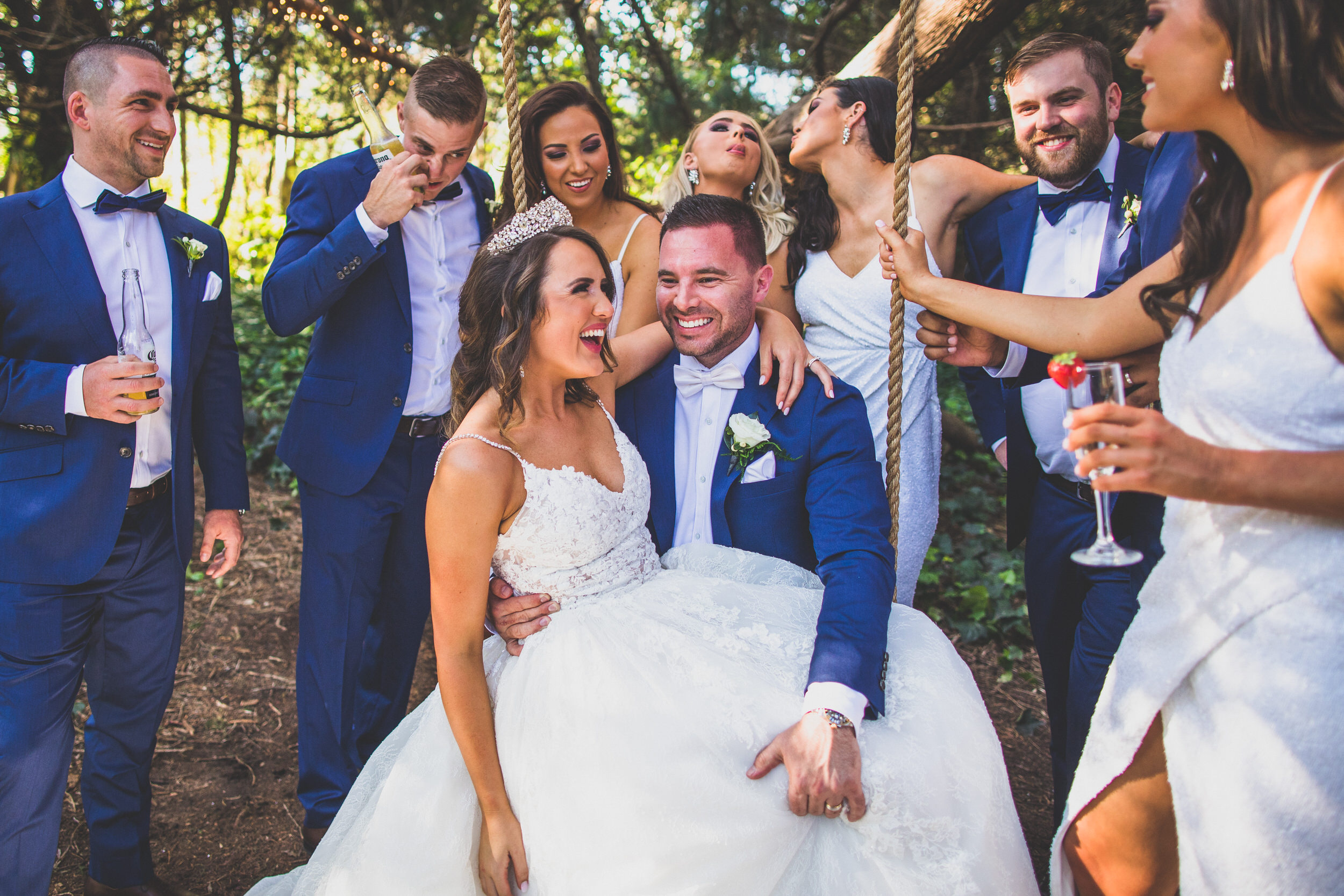 wedding party goals. bridal party goals. Sydney wedding