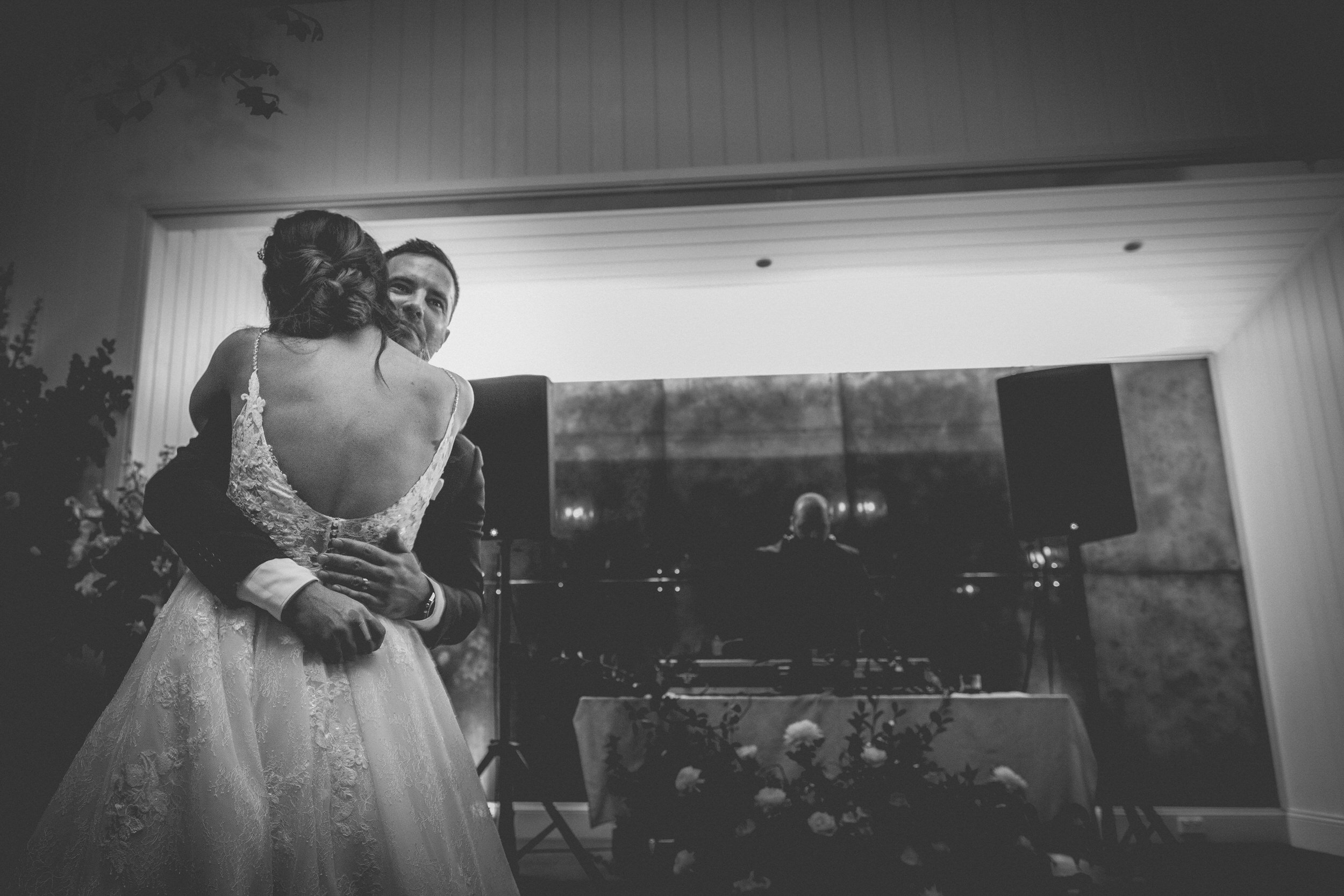 bride and groom first dance at a Sydney wedding