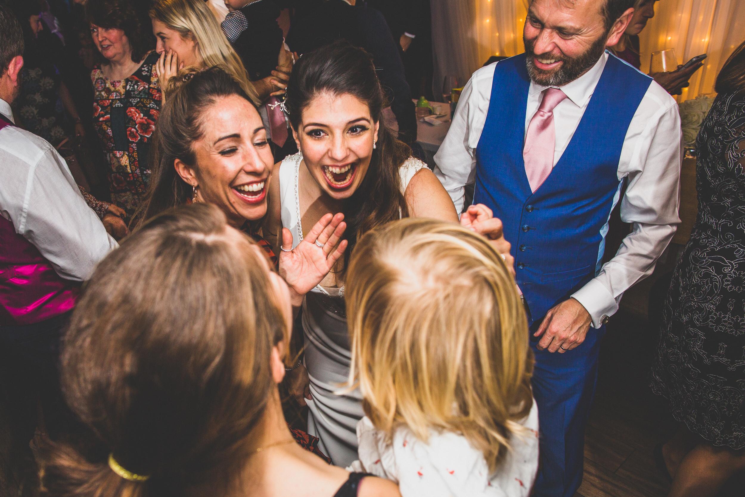 wedding dance floor fun