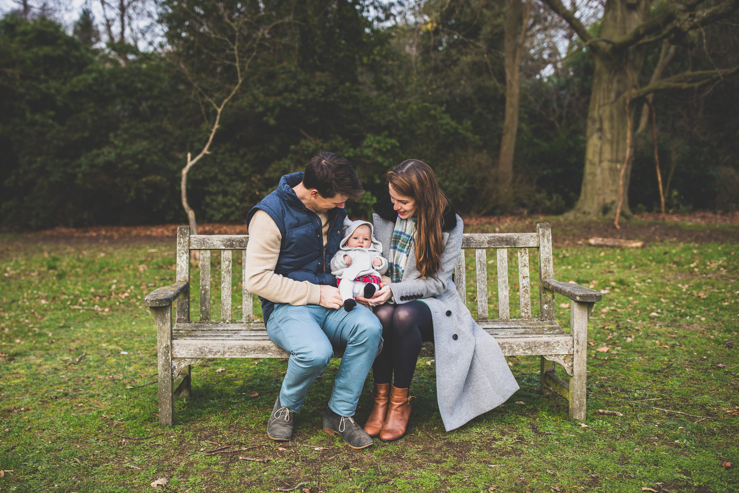 Northern Beaches Family session in a park