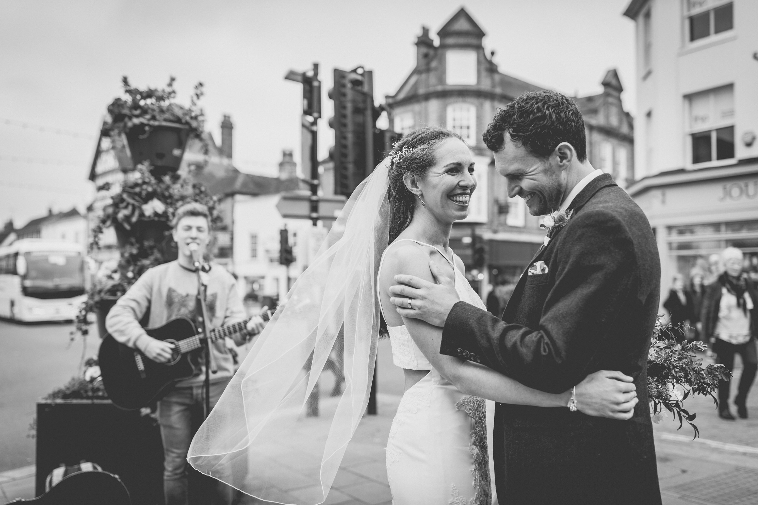 first dance to a busker