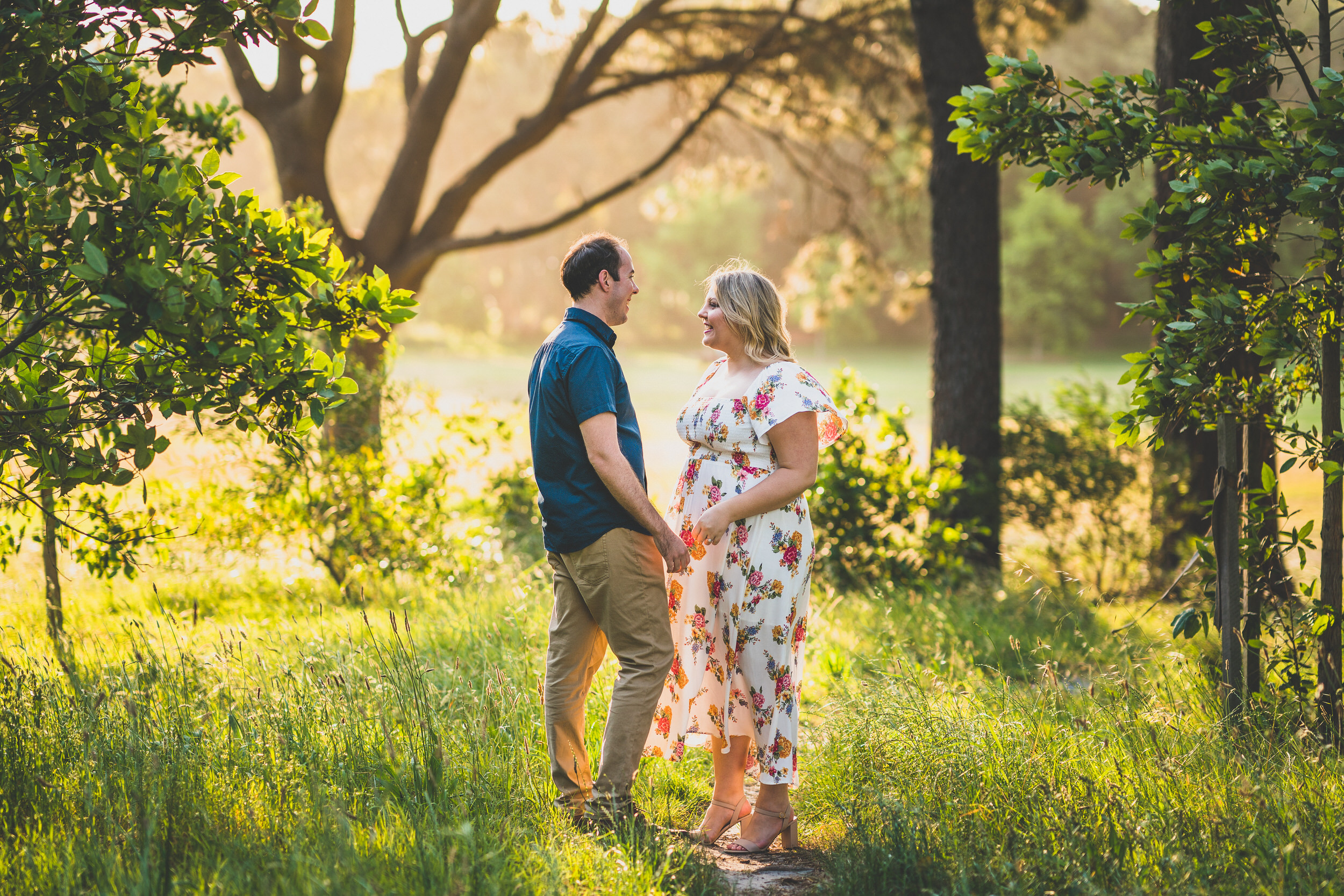 engagement session in centennial park
