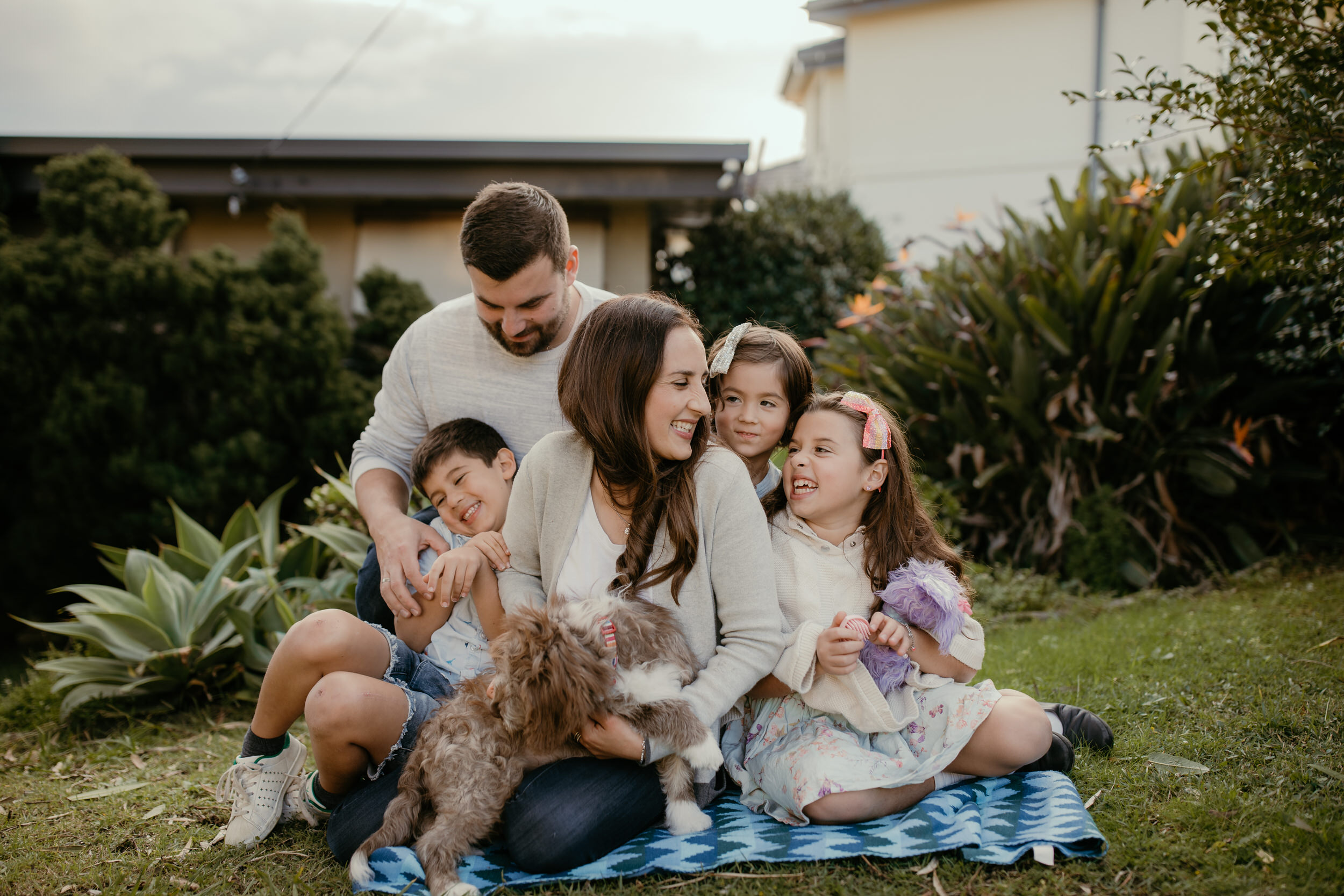 family photography session in Balgowlah