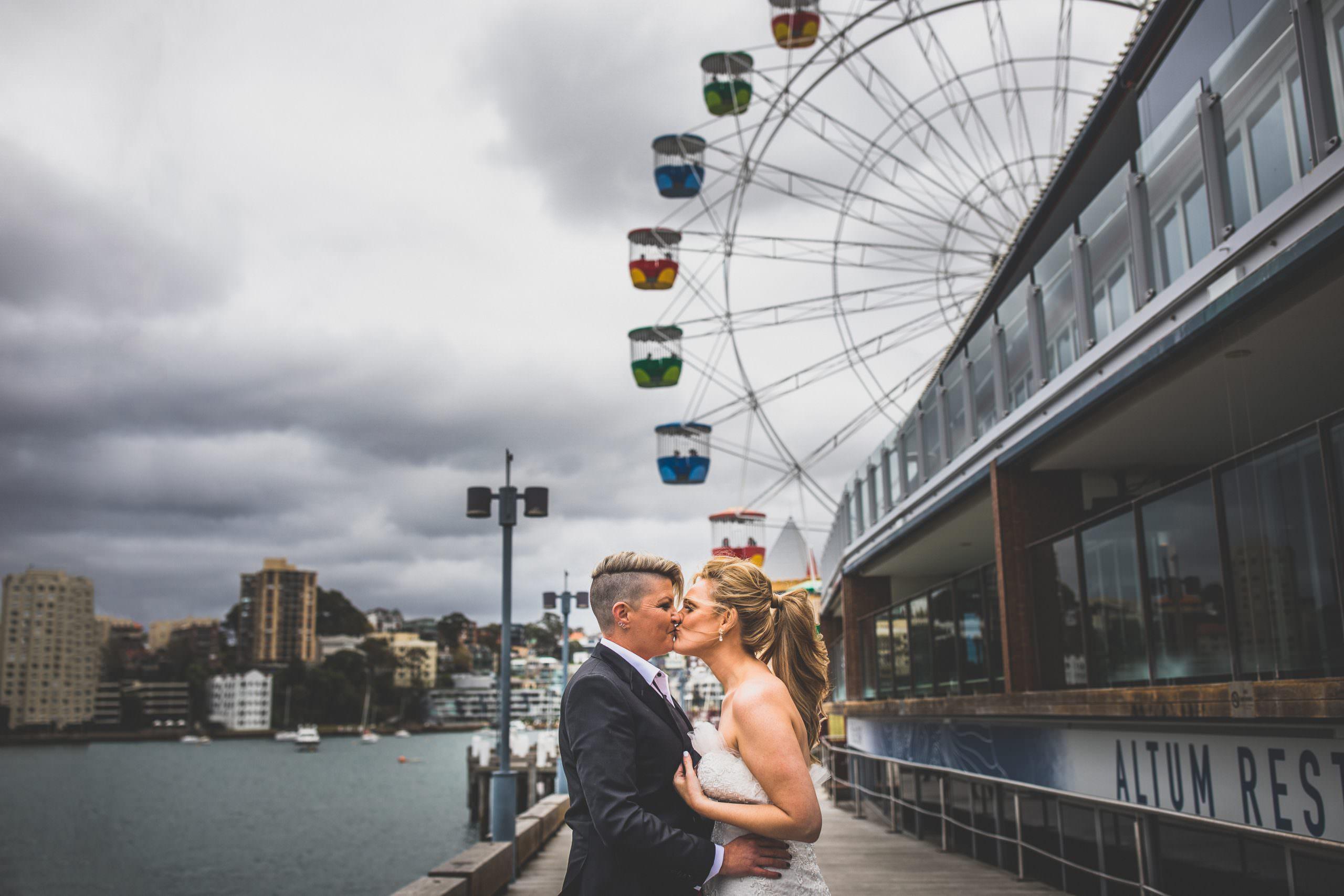Sydney lesbian wedding