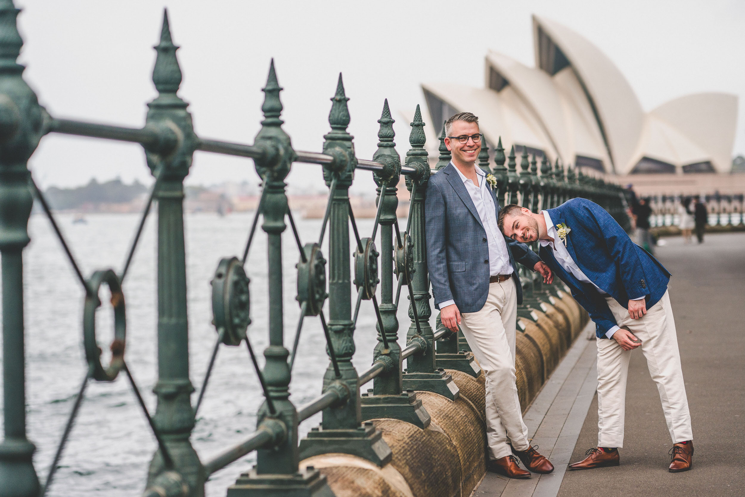 gay couple getting married in Sydney