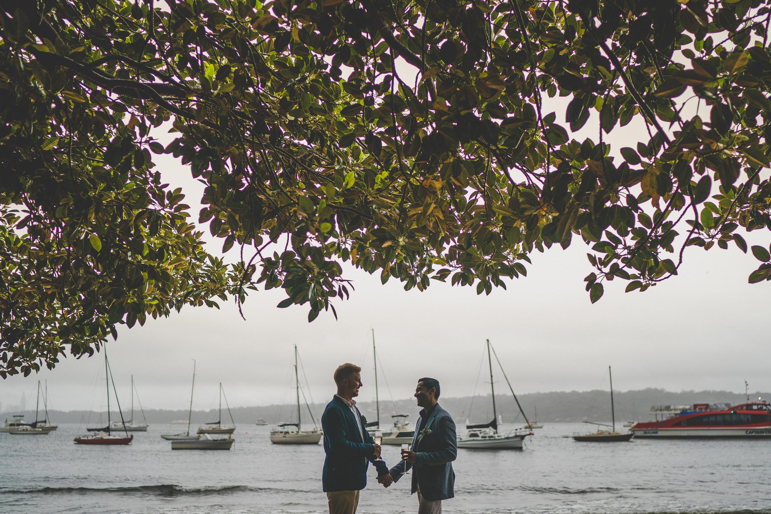gay Sydney wedding