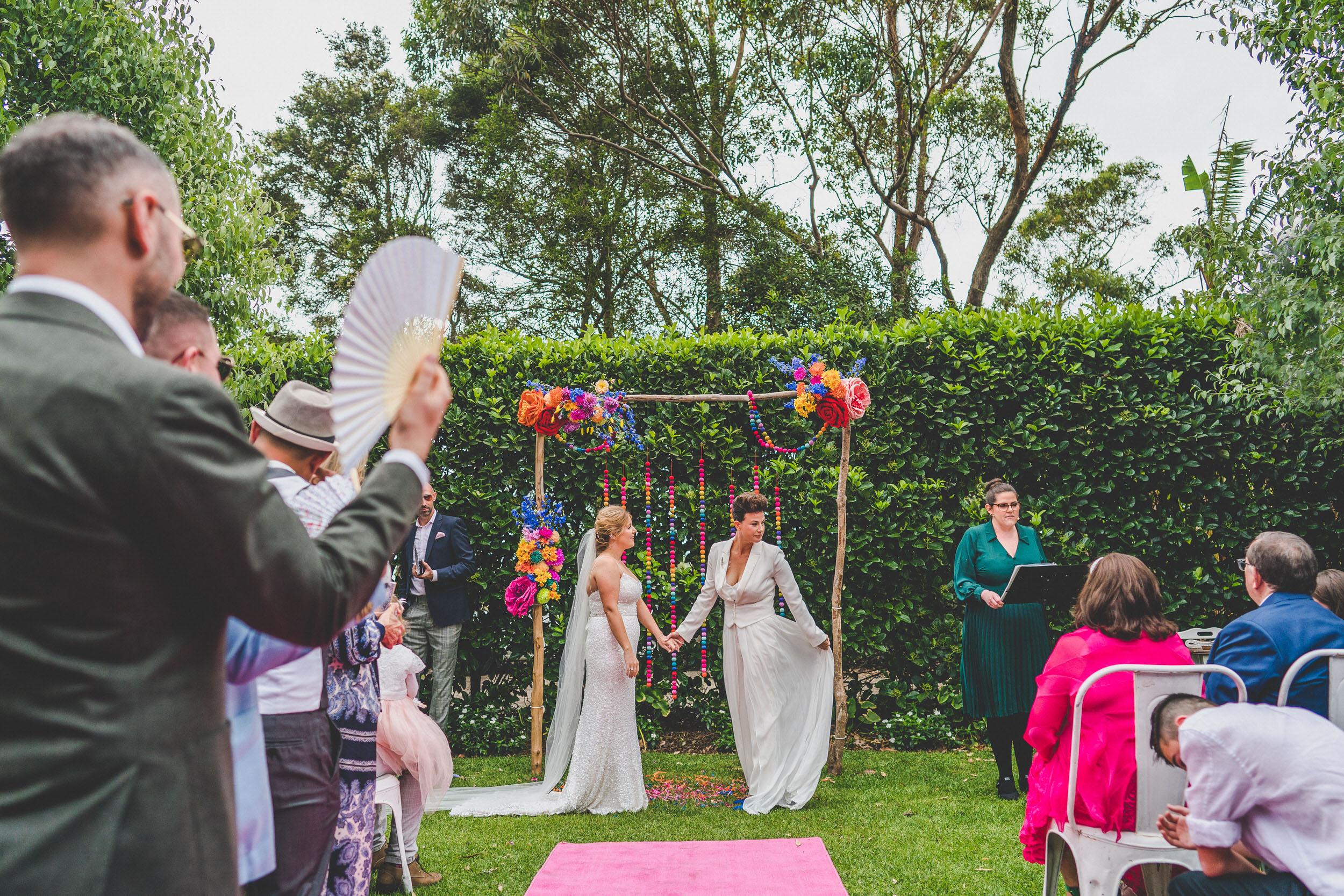 lesbian wedding Sydney