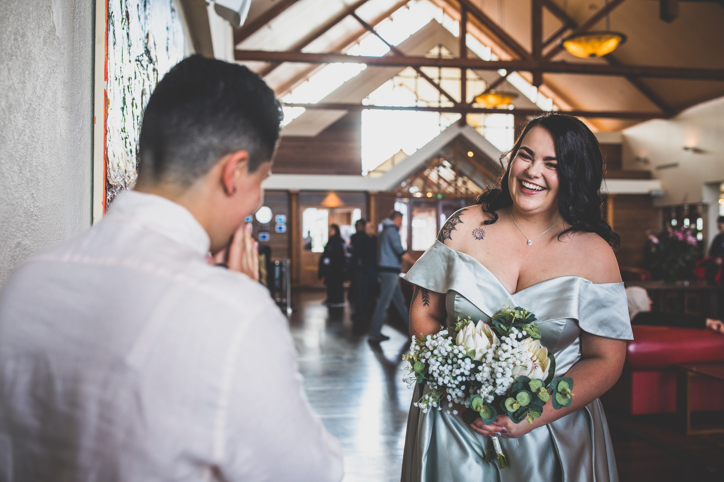 same sex couple getting married in Sydney
