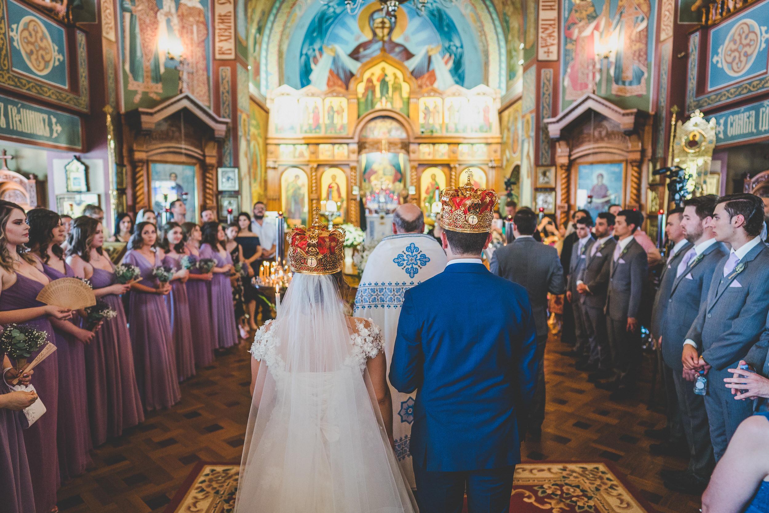Russian orthodox wedding customs crowns